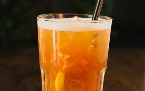 Iced Lychee Peach Tea